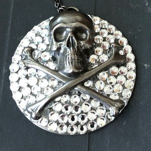 Gasoline Glamour Medallion Necklace